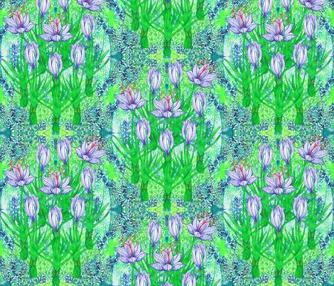 Ottoman Saffron fabric by joancaronil on Spoonflower - custom fabric