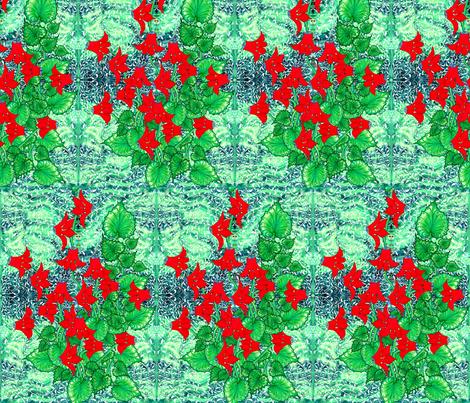 Ottoman Cyclamen fabric by joancaronil on Spoonflower - custom fabric
