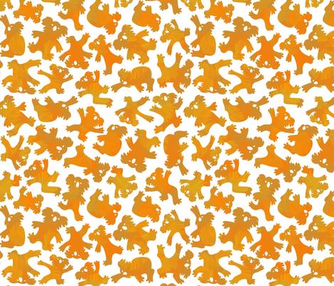 Koalagang fabric by margodepaulis on Spoonflower - custom fabric