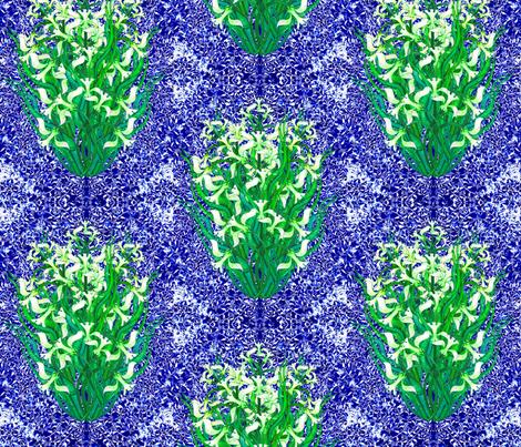 Ottoman Daffodil fabric by joancaronil on Spoonflower - custom fabric
