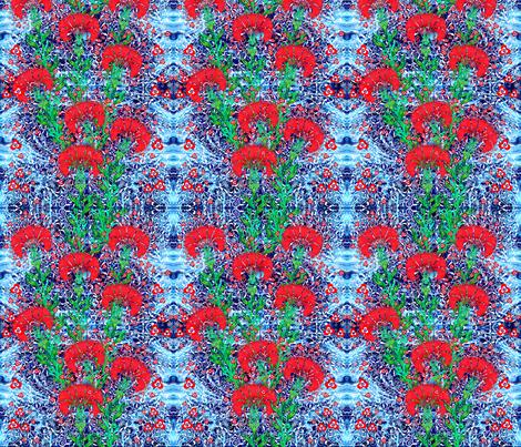 Ottoman Carnation fabric by joancaronil on Spoonflower - custom fabric