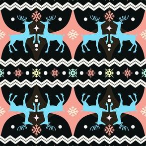 Pastel Reindeer