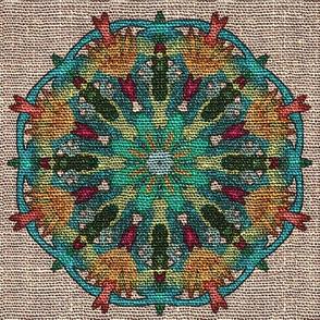 Psychedelic Dish Towel