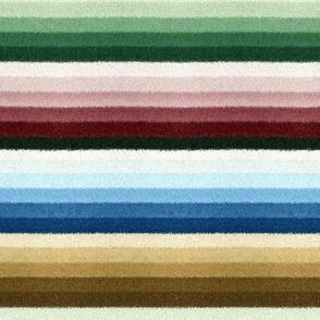 Early Victorian Contrast Stripe