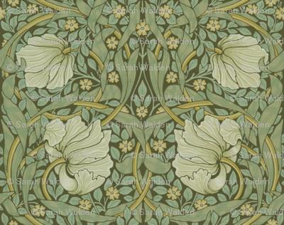William Morris ~ Pimpernel ~ Original