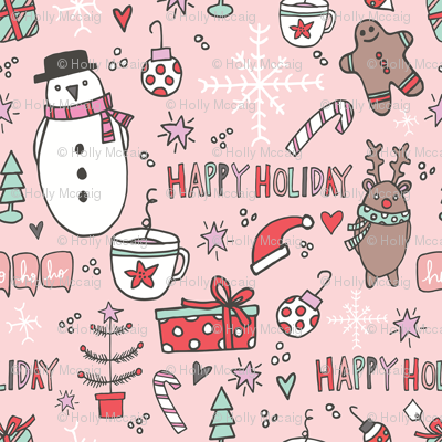 Happy Holidays by Holly McCaig