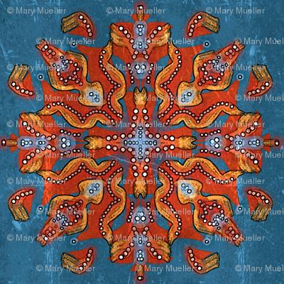 Pants on Fire Mandala