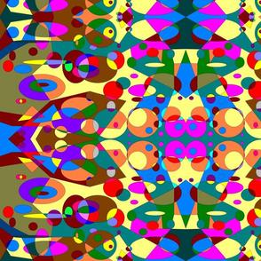 Bright Geometric Faces
