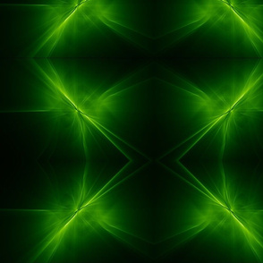 Green Sparkles