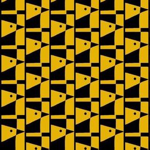 Canary Runway Gold Black