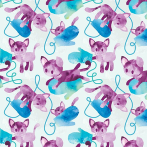 Itty Bitty Kitties in Mittens