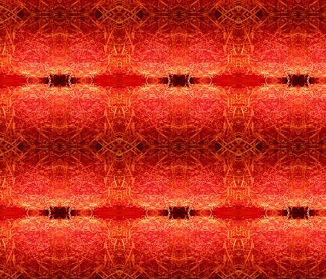 Orange shredding  fabric by kjs_mom on Spoonflower - custom fabric