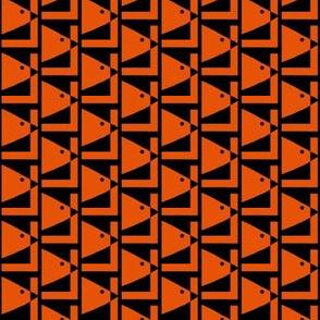 Orange Bird Holding Pattern