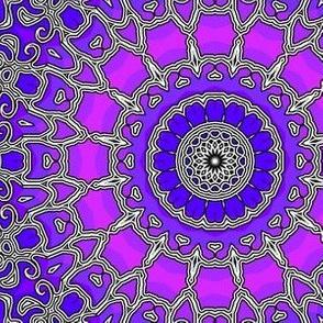 gradient_with_BW_filigree_kaleidoscope
