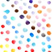 more watercolor dots