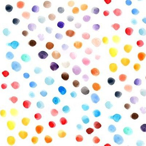more watercolor dots