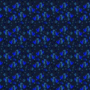 Motif_poissons_Fd_bleu_nuit