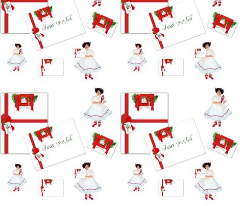 You're invited to Clara's recital fabric by karenharveycox on Spoonflower - custom fabric