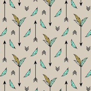 Arrows and Feathers Mint