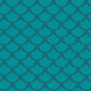 Fish Scale Pattern for Mermaids