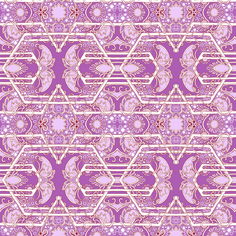 When the Stars Align  fabric by edsel2084 on Spoonflower - custom fabric