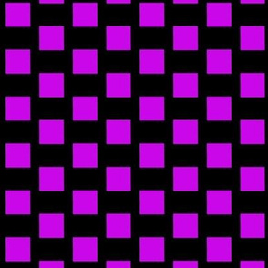 Purple Squares on Black
