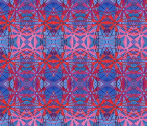 ANANSE NATONTAN or the Spider's Web fabric by ediecohn on Spoonflower - custom fabric