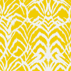 Wild Ikat Yellow