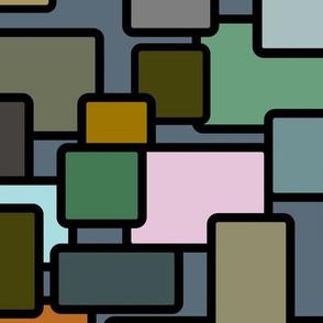 Mid Century Squares