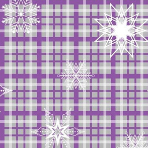 Amethyst Plaid