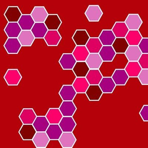 hexagon_brown_purple_pink