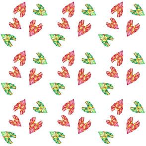 Geometric Heart Summer Salad