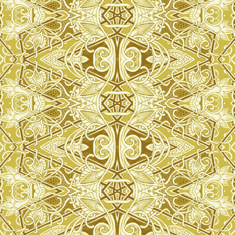 Diamonds and Gold fabric by edsel2084 on Spoonflower - custom fabric