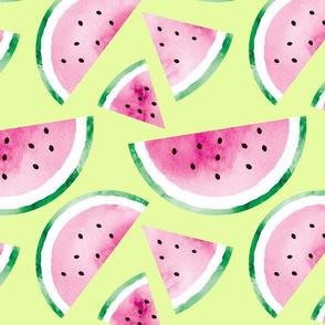 watermelons in zesty citrus