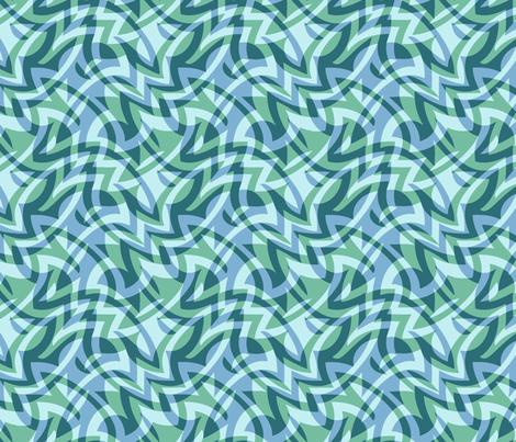 double op soft aqua fabric by weavingmajor on Spoonflower - custom fabric