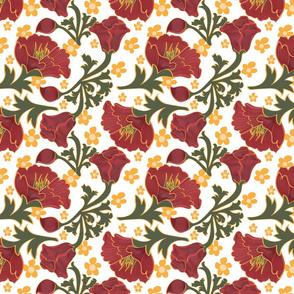 Crepe Paper Floral