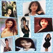 Selena 90's collage