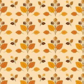 Acorns & Fall Leaves