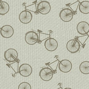 Retro Scattered Bicycle