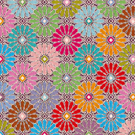 Gipsy-Ottoman fabric by leventetladiscorde on Spoonflower - custom fabric