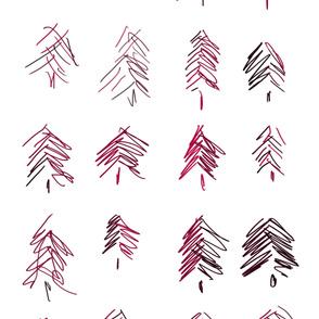 Maroon Trees