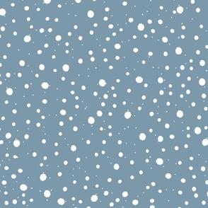 Snow ocean