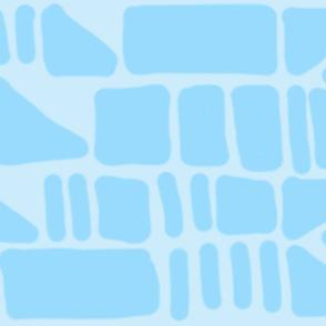 Cold Blue Blocks