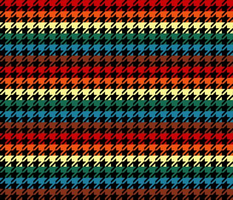 Houndstooth_chocolate_rainbow_1inch_black_shop_preview