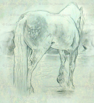 Custom Sized Gypsy Horse