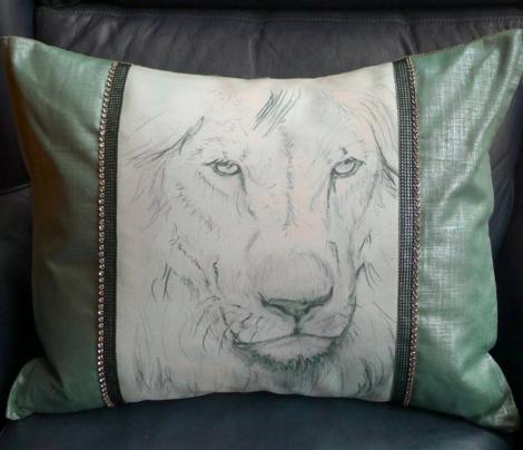 Custom Sized Lion Portrait