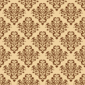 Damask - Browns