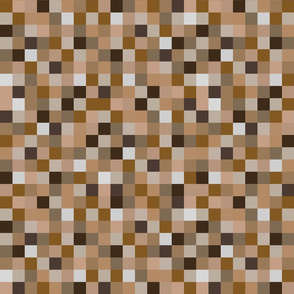 8-bit Pixel - Browns