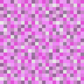 8-Bit Pixel Blocks - Pinks