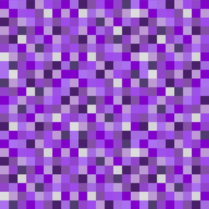 8-Bit Pixel Blocks - Purple